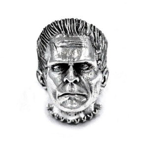 front view of the Frankenstein Ring from the universal monsters jewelry collection