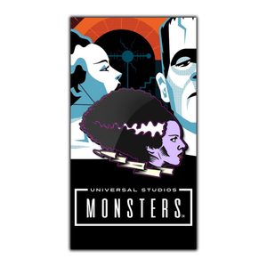 bride of frankenstein Enamel pin, classic universal monsters apparel