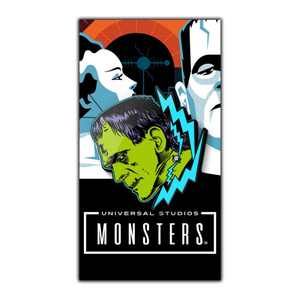 Frankenstein Enamel pin, classic universal monsters apparel