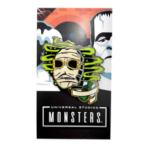 Invisible man Enamel pin, classic universal monsters apparel