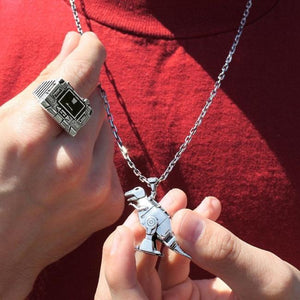 Grimlock Pendant Pm Necklace