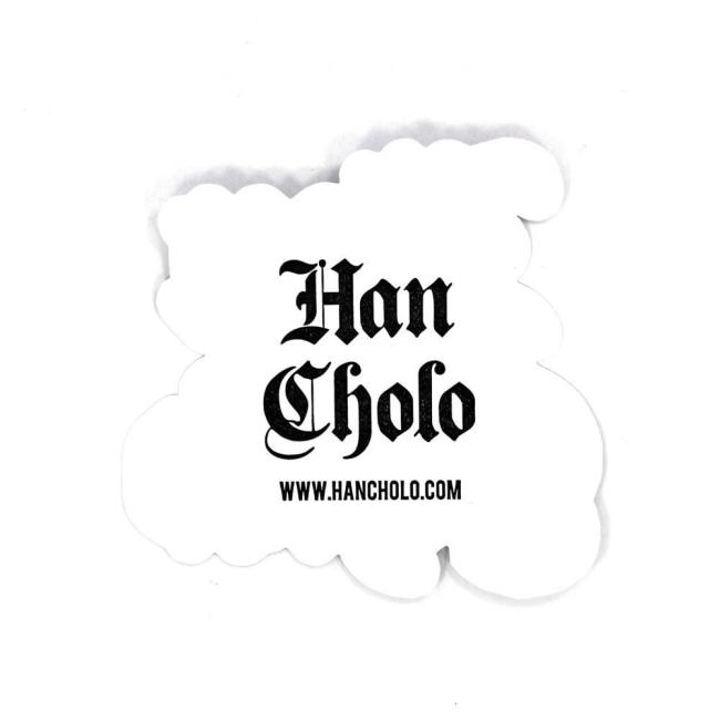 Han Cholo Logo Sticker Stickers