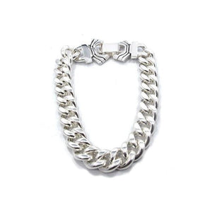 thick silver chain bracelet, chain bracelet, mens chains, chain for men