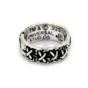 inner view of the Her till death do us part ring from the universal monsters collection