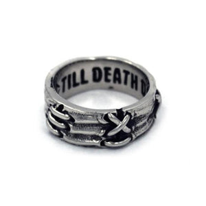 Her Till Death Do Us Part Ring Silver / 7 Ss Rings