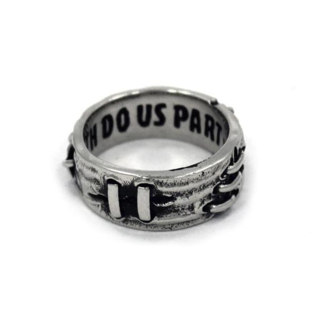 front view of the Her till death do us part ring from the universal monsters collection