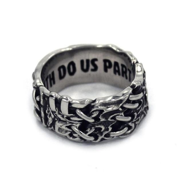 His Till Death Do Us Part Ring Silver / 10 Ss Rings
