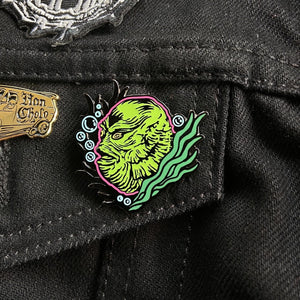 creature from the black lagoon collectible enamel pin
