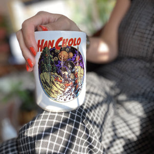 Han Cholo space dust coffee mug