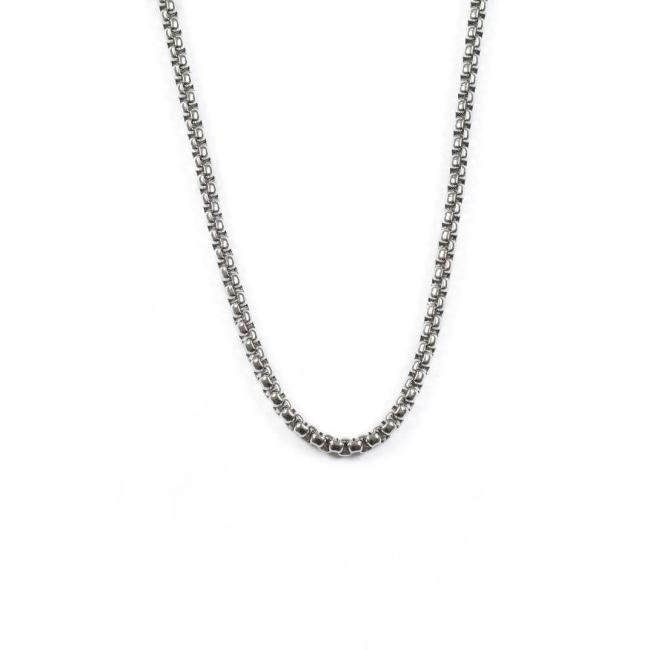 Individual Box Chain Stainless Steel Ss Necklaces