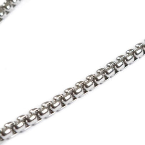 Individual Box Chain Ss Necklaces