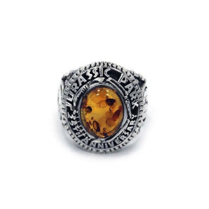 Jurassic Park 25Th Anniversary Class Ring Sterling .925 / 7 Pm Rings