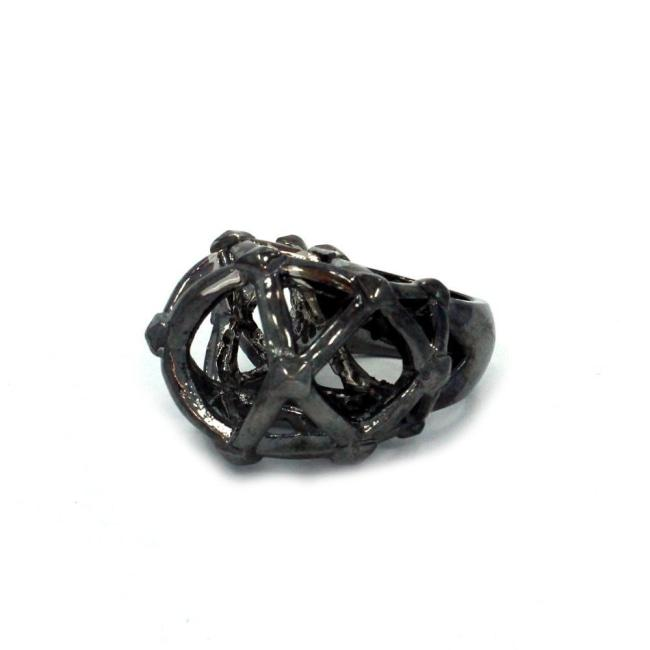 Labyrinth Ring, fantasy ring, mystery ring, fantasy ring, han cholo ring, sci fi ring, monster ring