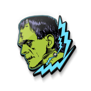 Frankenstein enamel pin from classic universal monsters