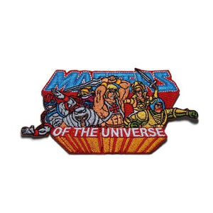front of the MOTU Heroes Patch  from the masters of the universe jewelry collection