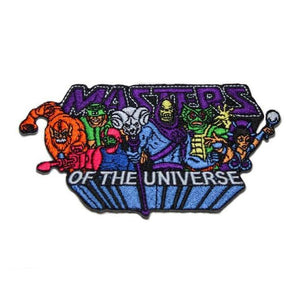 front of the MOTU Villains Patch from the masters of the universe jewelry collection