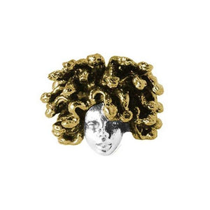 front of the medusa ring from the han cholo fantasy collection
