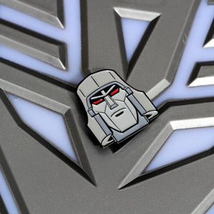 Megatron Enamel Pin,transformers enamel pin,decepticon pin,megatron pin,generation 1 transformers