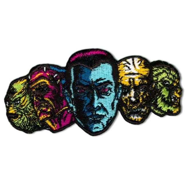 monster squad patch from the universal monsters jewelry collection