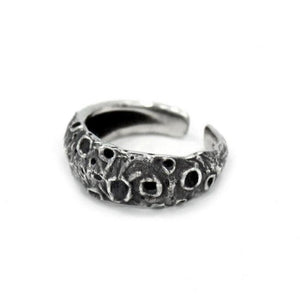 Moon Ring, Space Ring, Universe Ring, Crescent Moon Ring, Han Cholo Jewelry, Han Cholo Rings