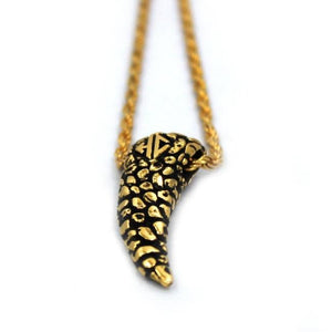 Nugget Tooth Pendant Pm Necklaces