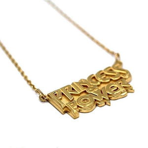 Princess Of Power Necklace Vermeil / 18 Pm Necklace