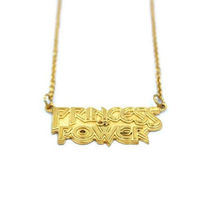 Princess Of Power Pendant Gold / 18 Ss Necklaces