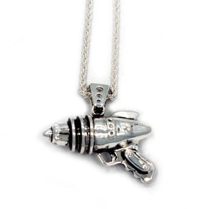 Ray Gun Pendant Silver / 24 Ss Necklaces