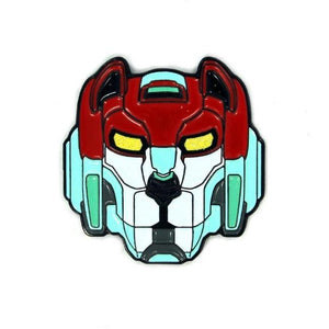 Red Lion Enamel Pin, voltron red lion, keith enamel pin, keith pin, voltron pin