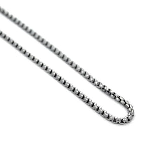 Round Box Chain Ss Necklaces