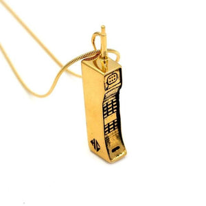 Saved By The Cell Pendant Vermeil Pm Necklaces