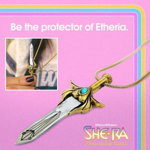 She-Ra Sword Pendant Ss Necklaces