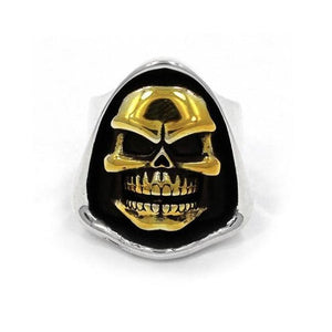 Skeletor Ring Silver/gold / 10 Ss Rings
