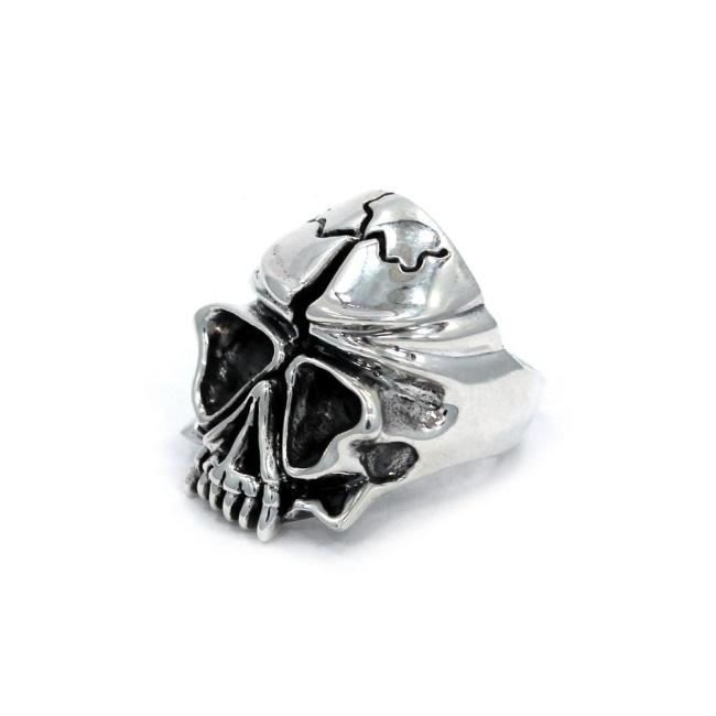 Skull Ring Sterling .925 / 6 Pm Rings