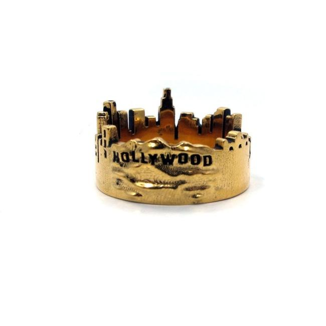Skyline Ring Sterling .925 / 9 Pm Rings