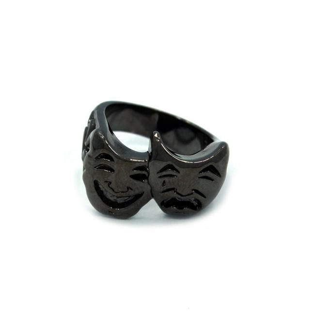 Smile Now Cry Later Ring Silver / 10 Ss Rings