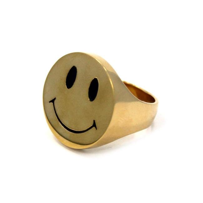 Smile Now Ring, Smiley Ring, Smiley Face Ring, Han Cholo, Han Cholo Ring, Happy Face Ring, Happy