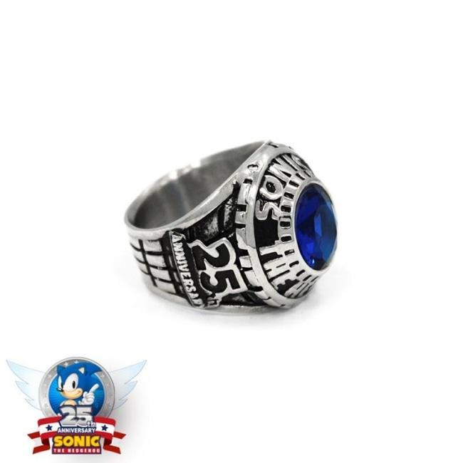 Sonic Class Ring Silver / 7 Ss Rings