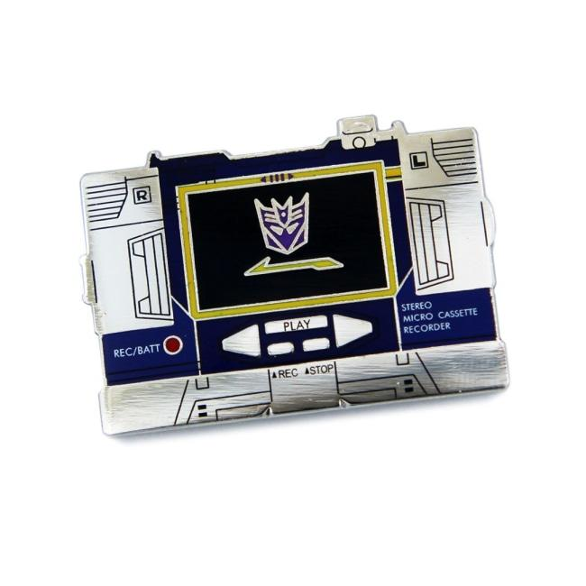 Soundwave Cassette Player Enamel Pin