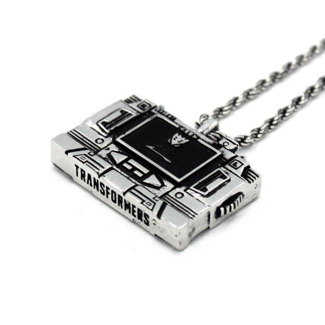 Soundwave Cassette Player Pendant Ss Necklaces