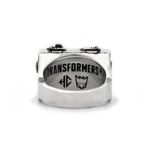 Soundwave Cassette Player Ring,transformers ring,transformers jewelry,transformers silver ring