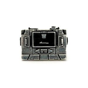 Soundwave Cassette Player Ring Sterling .925 / 9 Pm Rings