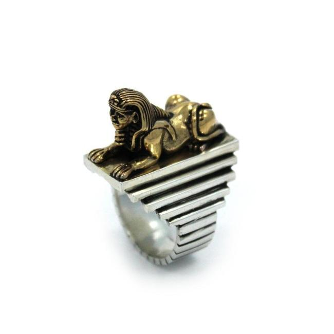 Sphynx Ring Pm Rings
