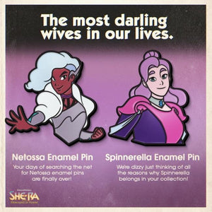 Spinnerella Enamel Pin