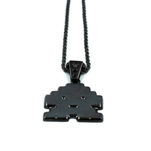 Stoney Invader Pendant Gunmetal Ss Necklaces