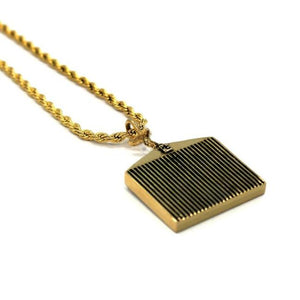 The Hc Grill Pendant Gold Ss Necklaces