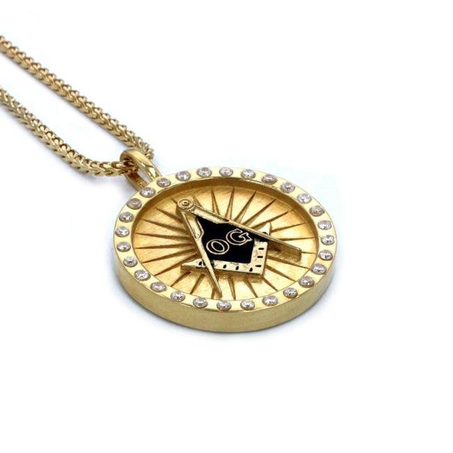 The Og Mason Pendant Gold / 24 Ss Necklaces