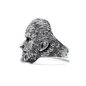 left side of the Wolfman Ring from the universal monsters jewelry collection