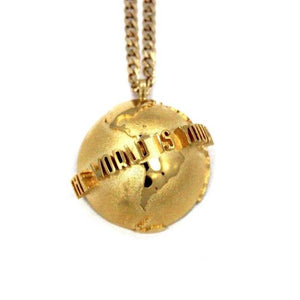 The World Is Yours Pendant Vermeil / 24 Pm Necklaces
