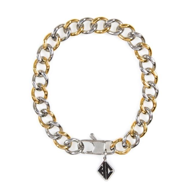 Thin 2-Tone Chain Gold/silver Ss Bracelets